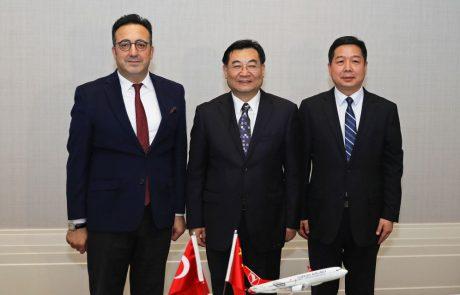 יעד חדש לחברת התעופה טורקיש איירליינס: שיאן שבסין