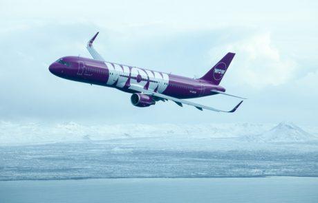 חברת WOW Airמציעה מספטמבר טיסות לסתיו במחירי השקה