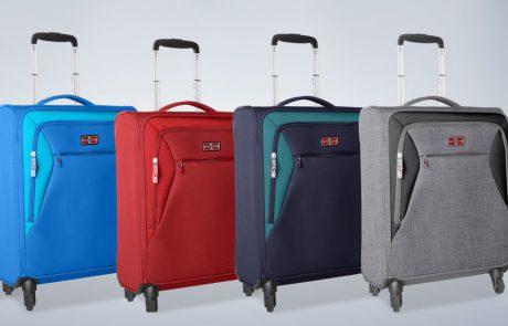 קל גב משיקה קו מזוודות לטיסות הלואו-קוסט
