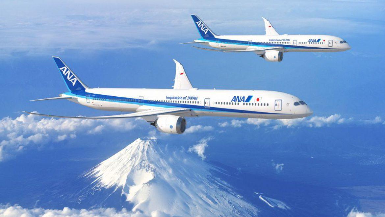 קבוצת ANA אחזקות רוכשת עד 20 מטוסי בואינג 787 דרימליינר נוספים