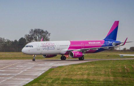 טיסה חדשה של Wizz Airבין לונדון לאילת