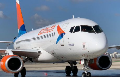 """חברת התעופה הרוסית אזימוט החלה להפעיל קו טיסות דו שבועי לנתב""""ג"""