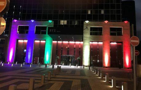 מלון ניקס תל אביב נבחר כמלון הרשמי של אירועי שבוע הגאווה