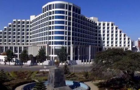 המלון הגדול באתיופיה של אתיופיאן איירליינס הוא במותג סיני