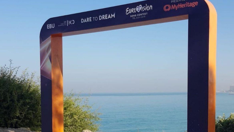 """לקראת האירוויזיון – עיריית ת""""א-יפו מתחילה לקשט את העיר ברוח התחרות"""