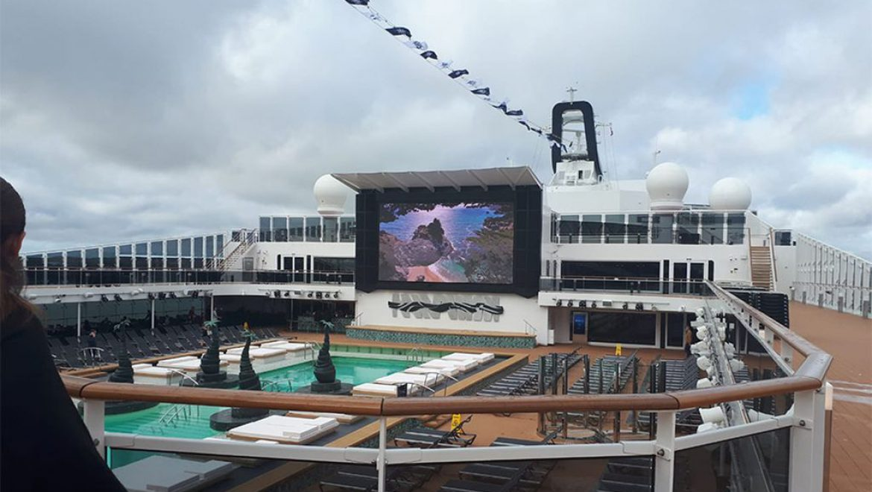 כה יפה: ה-MSC בליסימה הושקה בנמל סאות'המפטון באנגליה