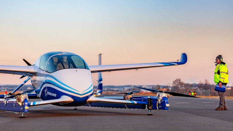 טיסה ראשונה של מטוס נוסעים ללא טייס