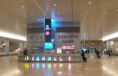 רשות האוכלוסין וההגירה: 28 ישראלים בלבד נכנסו היום לישראל