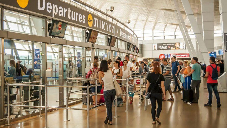 """מעל 2.8 מיליון נוסעיםעברו בחודש אוגוסט בטיסות בינלאומיות בנתב""""ג"""