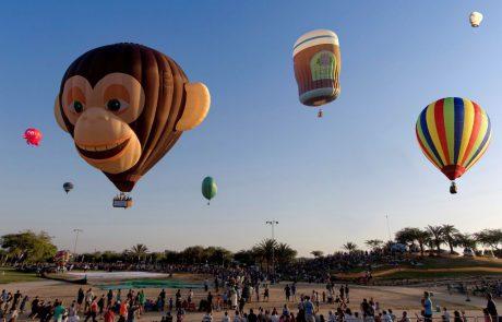פסטיבל כדורים פורחים בינלאומי בצפון הנגב