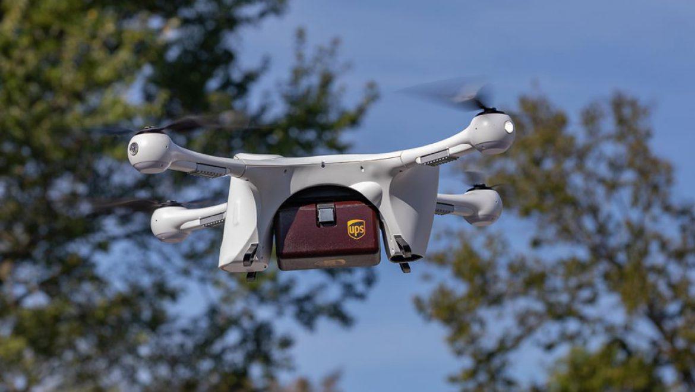 """UPS קיבלה אישור להטסת מל""""טים על ידי החברה-הבת Flight Forward"""
