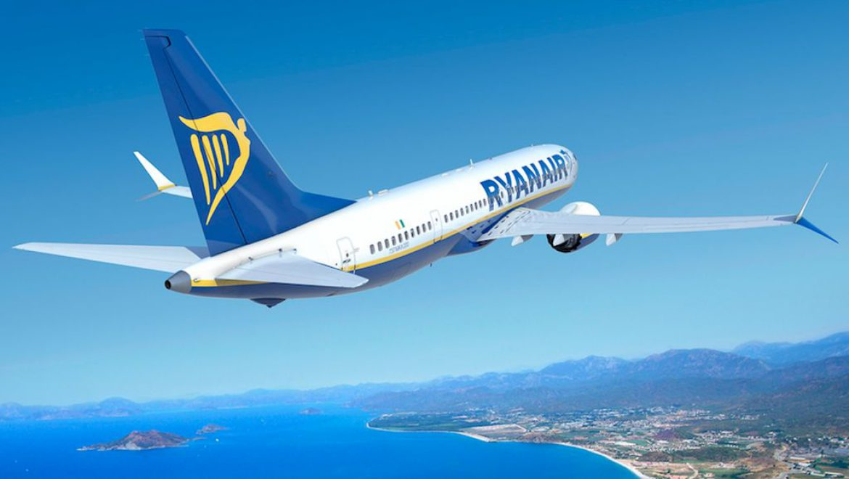 ריינאייר: צניחה במספר הנוסעים בחודש מרס 2020