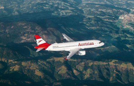 אוסטריאן איירליינס תגדיל את מספר הטיסות בקו וינה-תל אביב