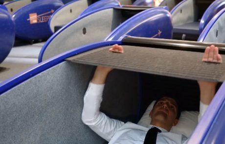 חדש בנמל התעופה של איסטנבול: קפסולת שינה
