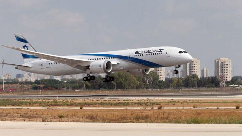 """מטוס 787 דרימליינר חמישי של אל על נחת בנתב""""ג"""