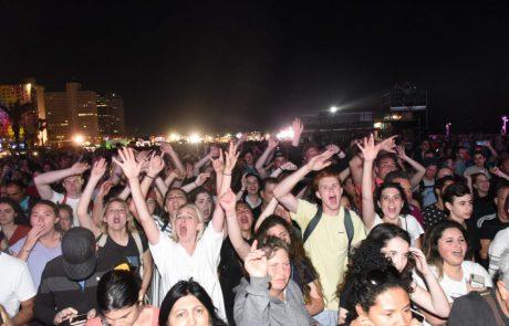 אלפי תיירים הגיעו לאזור תל אביב לקראת הגמר הגדול של האירוויזיון