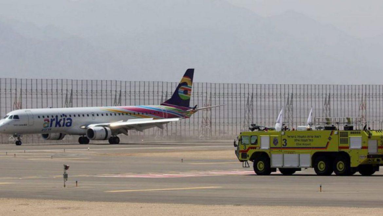 """מד""""א וכיבוי אש: לא ערוכים לפתיחת נמל התעופה רמון"""