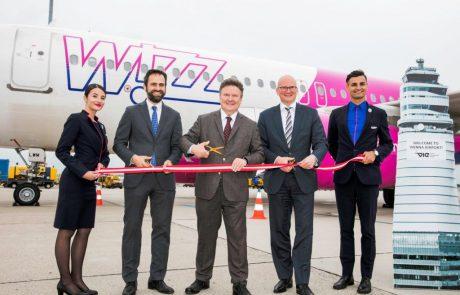 Wizz Airחונכת את הבסיס החדש שלה בווינה