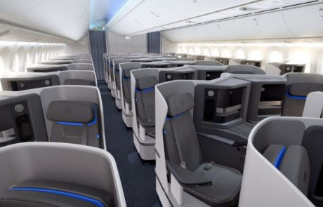 חידושים במחלקת העסקים של חברת התעופה אייר אירופה
