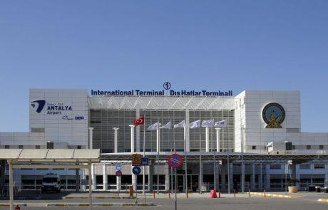 31.7 מיליון נוסעים עברו בנמל התעופה באנטליה ב-2018