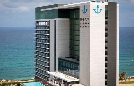 תעודת הצטיינות למלון ווסט לגון ריזורט נתניה