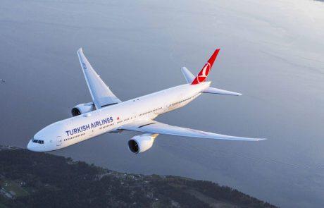 טורקיש איירליינס רשמה באוגוסט תפוסה של 85.6% הגבוהה בתולדותיה
