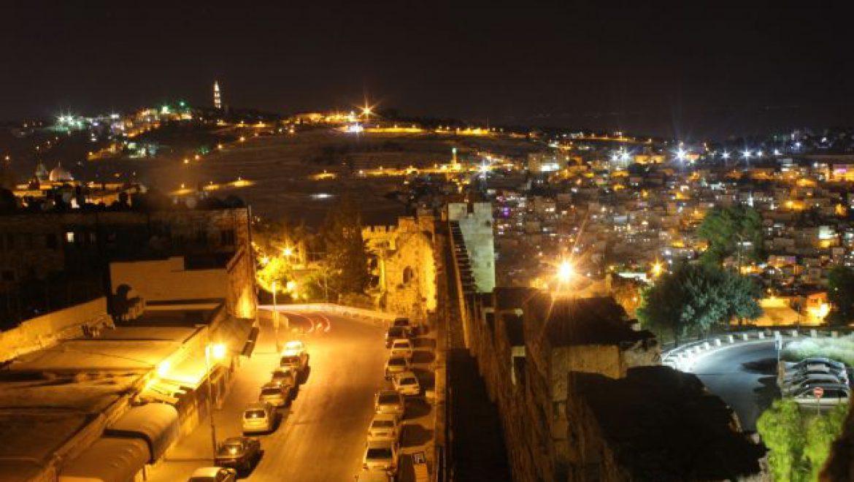 ירושלים של הלילה היא לא ירושלים של היום