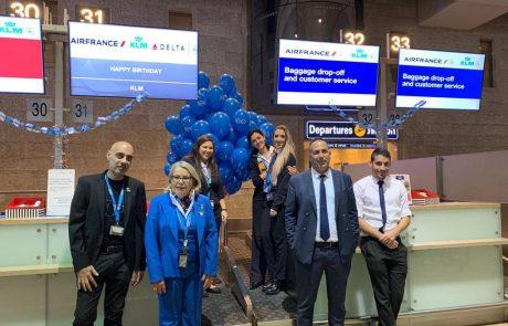 חברת התעופה ההולנדית KLM מציינת היום מאה שנות פעילות