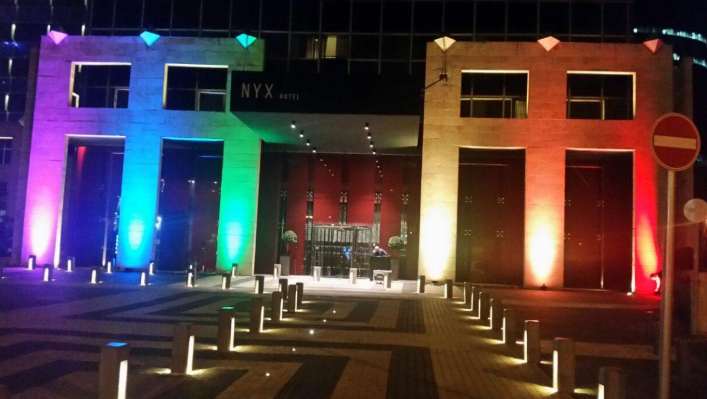 המלון הרשמי של אירועי שבוע הגאווה: NYX תל אביב