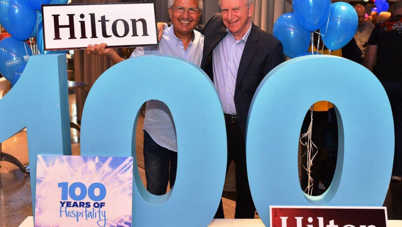 חגיגות המאה של הילטון נחגגו גם בישראל