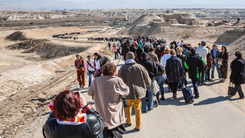 ינואר-יולי 2018 – 2.4 מיליון תיירים, עלייה של 17%