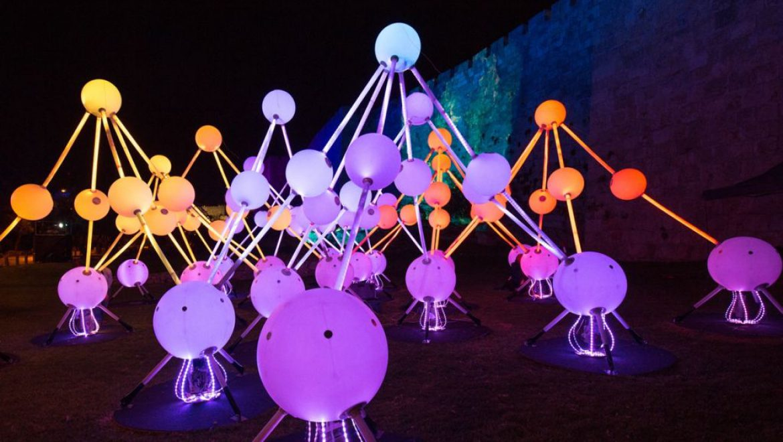 פסטיבל האור בירושלים חוגג עשור