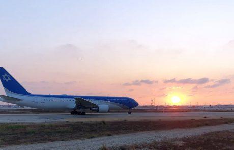 הבוקר: טיסת המבחן הראשונה של מטוס ראשי המדינה