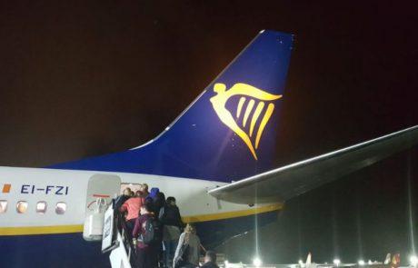 בית משפט בדבלין פטר את ריינאייר מלפצות את הנוסעים