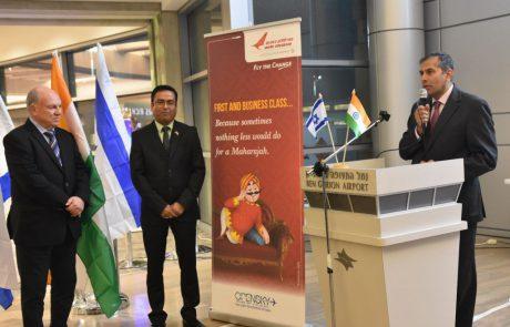 אייר אינדיה עם יותר מ-80 אלף נוסעים בקו דלהי-תל אביב