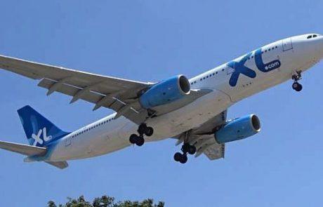 חברת הלואו-קוסט הצרפתית XL AIRWAYS השעתה מכירת כרטיסי טיסה