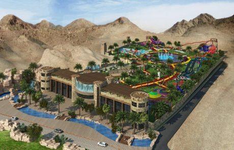 פארק המים הראשון באילת צפוי לכלול את המגלשה הגבוהה במזרח התיכון