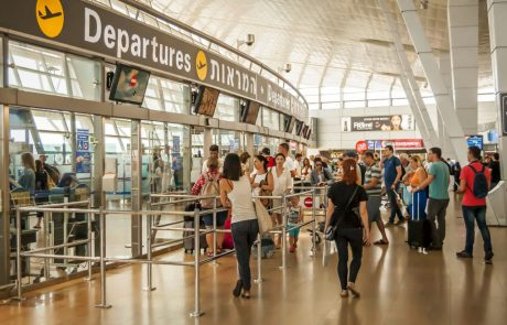 """אוקטוברבנתב""""ג: כ-2.3 מיליון נוסעים בטיסות בינלאומיות"""