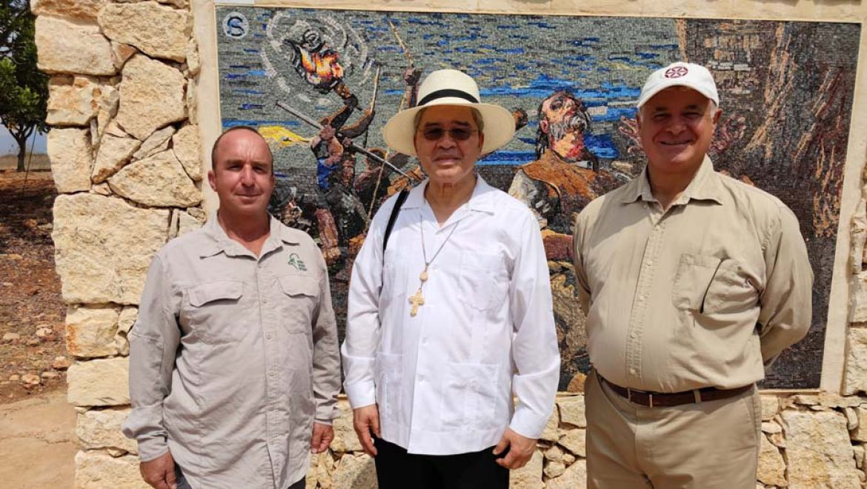ביקור שגריר הכס הקדוש (הוותיקן) בגן הלאומי ארבל