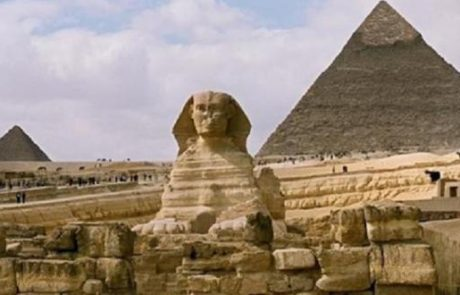 קבוצת תיירים ישראליים בדרך למצרים