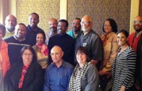 שר התיירות נפגש עם כמרים אפרו אמריקנים בכירים