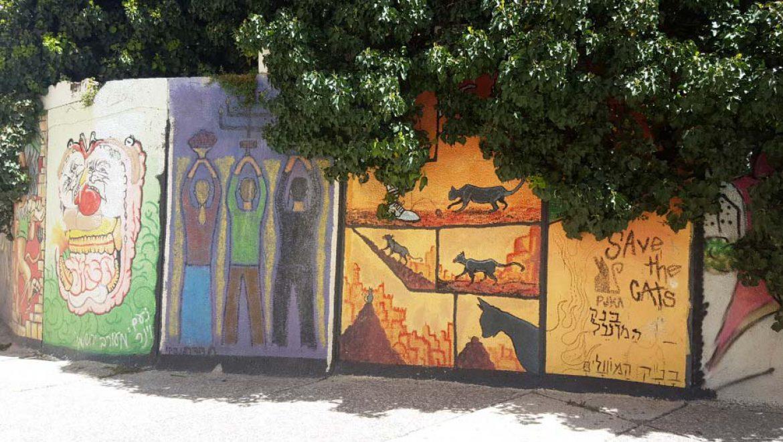 """""""50 גוונים של ירושלים"""": סיור גרפיטי שמראה את העיר על הקיר"""