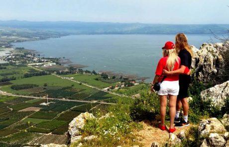 כמיליון ומאתיים אלף ישראלים טיילו במהלך החג בחיק הטבע והמורשת