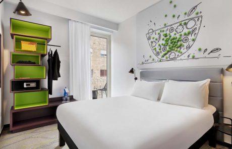 מלון ibis Styles ירושלים נפתח מחדש במחירי קיץ אטרקטיביים