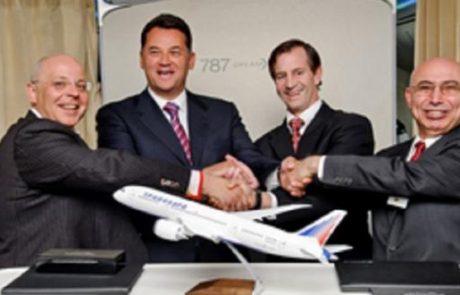 טראנסאירו הזמינה 4 מטוסי בואינג 787