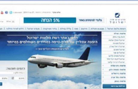 ישרוטל: הזמנת חופשה במלון וטיסה לאילת באתר