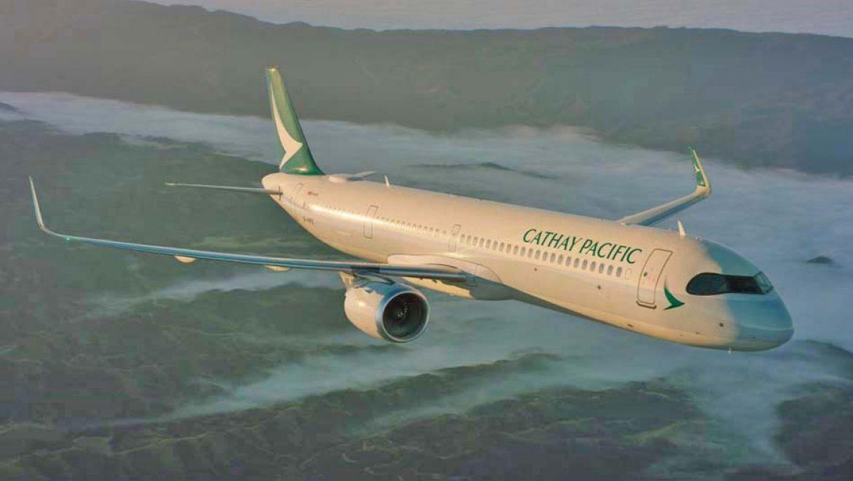 קתאי פסיפיק הציגה את מטוס האיירבוס A321neo החדיש
