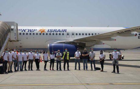 לראשונה שני מטוסי ישראייר המריאו להודו