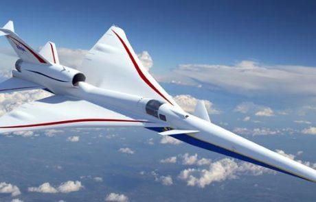 לוקהיד מרטין מפתחת מטוס על-קולי מסחרי שקט