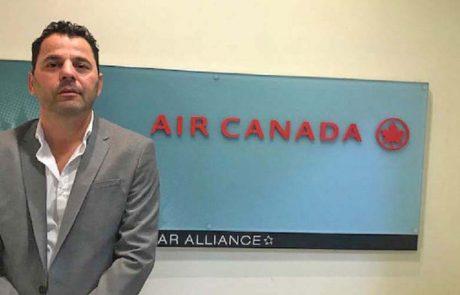 מנהל מכירות חדש מונה לאייר קנדה